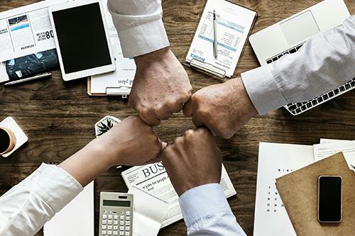 Symbolbild: Zusammenarbeit